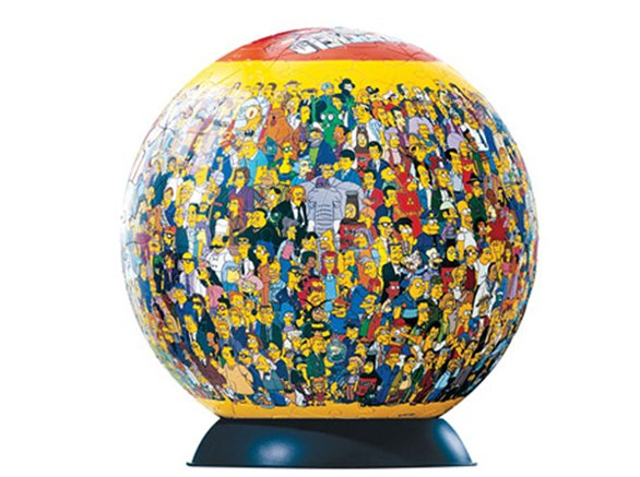 puzzleball the simpsons