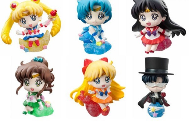 Nuovo set Candy de Makeup di Sailor Moon - Petit Chara Land