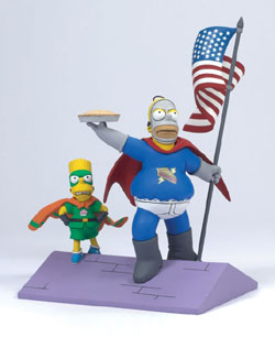 Le action figure dei Simpson
