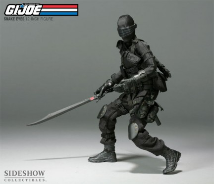 In anteprima l'action figure gigante di Snake Eyes dal film dei G.I. Joe