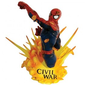civil war marvel busto spiderman