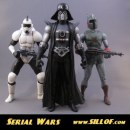 Star Wars: le action figure in stile retrò di Sillof
