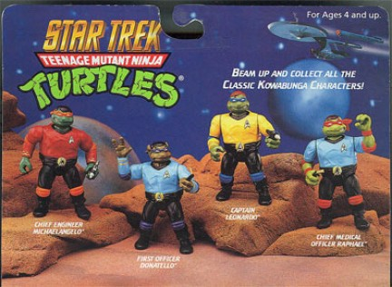 star trek ninja turtles