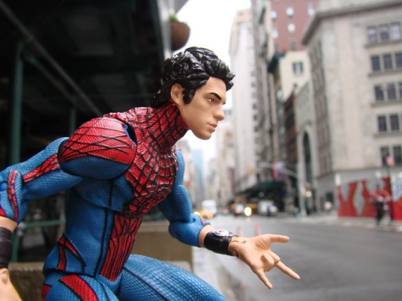 The Amazing Spider-Man: le action figure