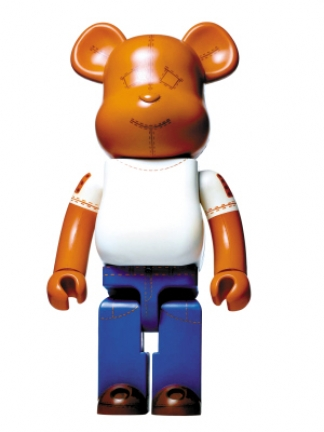 bearbrick cancer blood foundation tod's