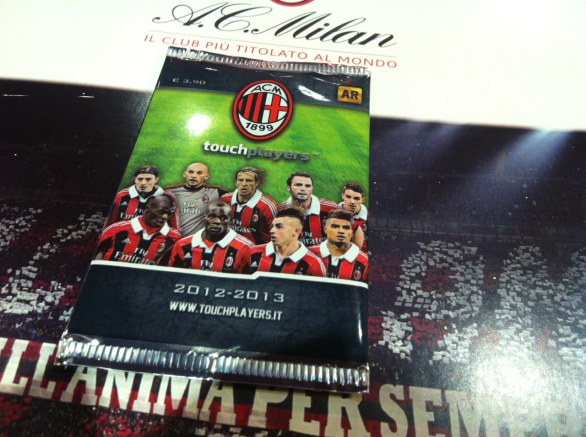 Digital Cards Touchplayers A.C. Milan 2013