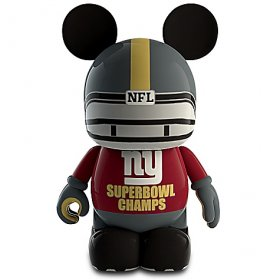 Disney: Vinylmation NFL Super Bowl XLVI Champion Figure, la figura da collezione