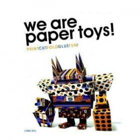 We are Paper Toys: il volume con i paper toys é in vendita su amazon